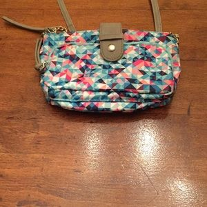 Selling this confetti purse